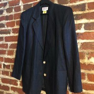 Talbots 100% Linen Suit Jacket